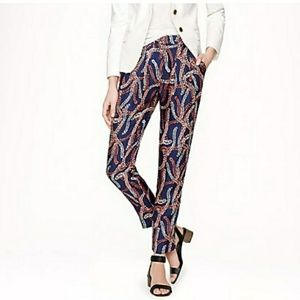 J Crew Collection Womens Size 4 Pants Silk Trouser
